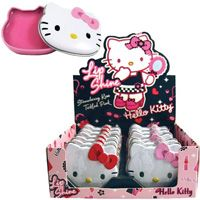 Hello Kitty Lip Shine Assorted Tins Display 12 Count