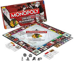 Um I believe that monopoly was the greatest game ever about 15 years ago, but blackhawks version? Man, back on the leader board since Chicago Mobopoly!