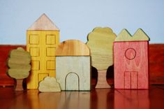 Wooden toys for little peeps at Just Hatched