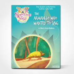 Storytime Yoga Kids Yoga Story Kit The Armadillo Who Wanted to Sing - How to deal with bullies? #kidsyoga #storytelling #yogaforchildren #storytimeyoga