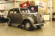 Vauxhall H-Type 10HP Deluxe Saloon 1937.