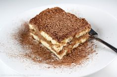 Tirmisu with a Twist! Add a little chocolate and bourbon for a Tiramisu perfect for Chocolate Monday! The Heritage Cook 2013