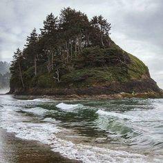 Proposal Rock, near Neskowin Beach Oregon                                                                                                                                                      More