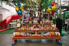 Circo: um tema lúdico e perfeito para a festa infantil de 1 ano!