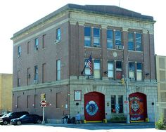 FDNY Firehouse Engine 279 & Ladder 131, Red Hook, Brooklyn, New York City by jag9889, via Flickr shared by NYC Firestore