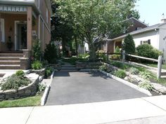Antine Landscape_driveway and plantings