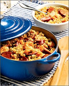 Bluegrass Jambalaya: This hearty Cajun specialty is not only tasty but low in salt too!