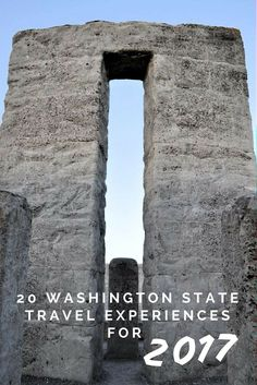 Are you heading to Washington State in 2017 and need some travel adventure ideas?To inspire your small town travels here is a list of 20 Washington State Travel Experiences for 2017. And, you won't find the Space Needle on this list!