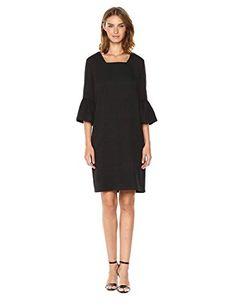 d18dde2c806c New Calvin Klein Women s Texture Square Neck Flutter Sleeve Dress online    119.50  from top