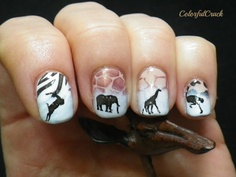 South Africa nail art