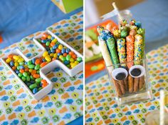 BOY PARTIES: MONSTER PARTIES: Adorable Monster Mash Party by RV Events - Pink Peppermint Design