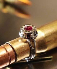 Bullet ring! shop.trucktraderz.com #bulletring