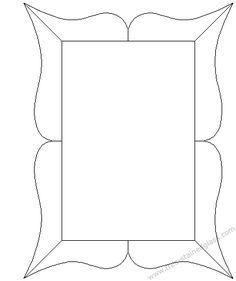 Stained glass elliptical frame border design   Templates ...