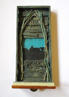 ⌼ Artistic Assemblages ⌼  Mixed Media & Collage Art - IView Pt. 3 by Tomcra, via Flickr