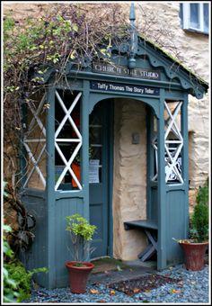 Home of Taffy Thomas The Story Teller Veranda Pergola, Front Porch Pergola, Front Door Canopy, Porch Canopy, House Front Porch, Porch And Balcony, Front Porch Design, Cottage Front Doors, Cottage Porch