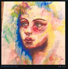 Watercolour splash by Shaun donovan aged 17 years
