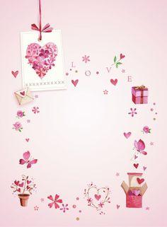 Lynn Horrabin - valentines flower heart.psd