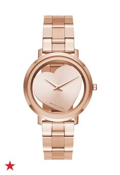 Need a gift for your BFF? Visit macys.com for rose-gold watches all your besties will love, like this one from the Michael Kors' Jaryn collection. PS- Don't forget to check out our fave, the two-tone colorway!