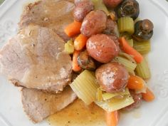 Willie's Favorite Roast with Vegetables- Miss Kay recipe