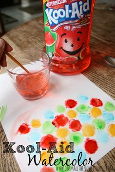 Kool-Aid Watercolor