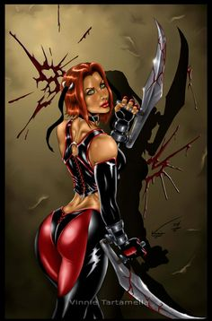 99 Best Bloodrayne Images Rayne Comic Art Female Comic Characters