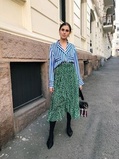 Spring Look Picture Description Darja Fashion Blogger Style, Look Fashion, Fashion Outfits, Womens Fashion, Fashion Trends, Fashion Bloggers, Street Fashion, Fashion Stylist, Looks Street Style