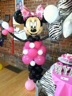 Minnie party Balloon display