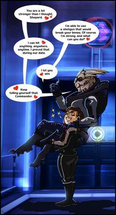 ME3: Romantic Rivalry by Padzi.deviantart.com on @DeviantArt