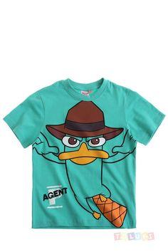 T-shirt #Phinéas Ferb Perry l'ornithorynque https://www.toluki.com/prod.php?id=1077 #enfant #Toluki #mode