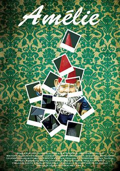 Le fabuleux destin d'Amélie Poulain poster by on deviantART Amelie, Audrey Tautou, Destin, Cinema Posters, Alternative Movie Posters, Movie Poster Art, Film Books, Minimalist Poster, Cool Posters