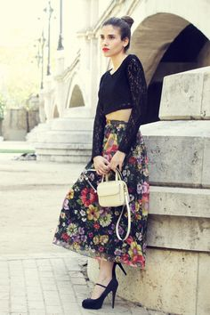 LADYLIKE+FULL+SKIRT