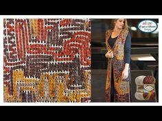 Zincir işi Uzun Yelek Yapımı - Chain Work Vest w/ Alize Burcum Batik - YouTube Crochet Chain, Crochet Stitches, Free Crochet, Folk Embroidery, Indian Embroidery, Embroidery Designs, Piercings Ideas, Handbags Online Shopping, Moda Emo