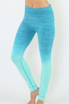 Enhance your workout or energize your relaxed attire with a pair of Everlasting Ombre' full pant leggings from JacksonsRunaway! Regardless if you are doing high impact cardio or a meditating yoga session, no workout should be interrupted by uncomfortable workout gear. Stop waiting and take your workout to the next level Today!!!! Why You'll Love Them: Bold + Comfortable - Available in Two Sizes: Small, Medium - Machine Washable - Soft Yarn and Flexible Nylon/Polyester/Spandex