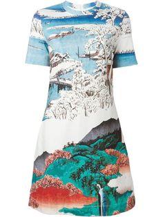 Carven Landscape Print Dress - Gigi Tropea - Farfetch.com