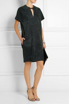 Joseph Megan suede mini dress. #yesplease