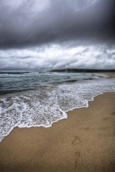 Stormy Beach | Mark Woogie