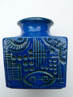 Fun Carstens W German ceramic vase.