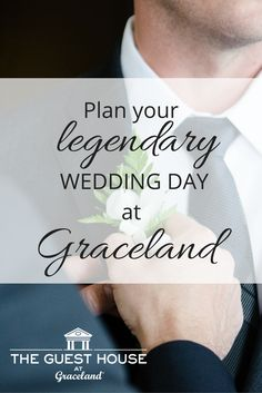 People will be talking about your memorable wedding day - celebrate your timeless romance at Graceland.