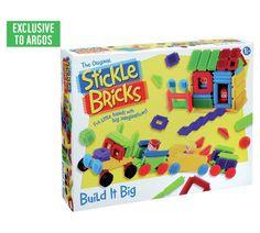 Buy Stickle Bricks Build it Big Box | Construction toys | Argos