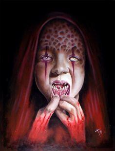 Horror art by David Anthony Magitis
