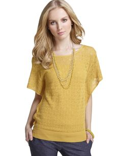 this color would probably look terrible on me, but love the yellow.