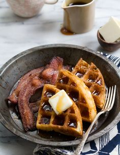 Marion Cunningham's Yeasted Waffles. The best waffles I've ever made ...