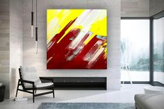 Modern Wall Decor Original Paintings On Canvas Hand Painted image 0 Office Wall Art, Office Decor, Original Paintings, Original Art, Colorful Artwork, Extra Large Wall Art, Modern Wall Decor, Texture Art, Art Images