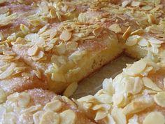 Pastel de mantequilla con almendras