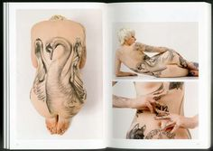 Body Art Portrait Books  London Tattoos by Alex Macnaughton Explores Unique UK Ink #tattoos #bodmodification #books