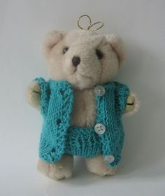 clothes for a teddy bear suit from nutka_art by DaWanda.com