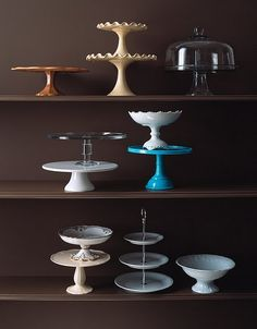 I can not have too many cake stands.