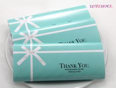 Tiffany Blue personalised chocolate bars for a Tiffany Party at www. Tiffany Blue per Tiffany Blue Party, Tiffany Birthday Party, Tiffany Blue Weddings, Tiffany Theme, Tiffany & Co., Tiffany Wedding, Blue Birthday, Birthday Parties, Tiffany Blue Decorations