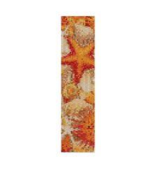 """Peyote Bracelet Pattern Starfish """"Stars in the Ocean"""""""