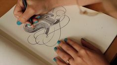 Jessica Hische, SF Design Week Sketch on Vimeo